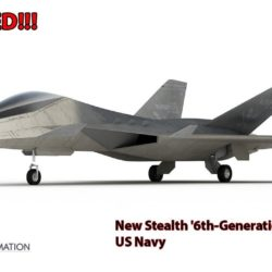 Revealed: Here's US Navy New Stealth '6th-Generation' Fighter After the F-35