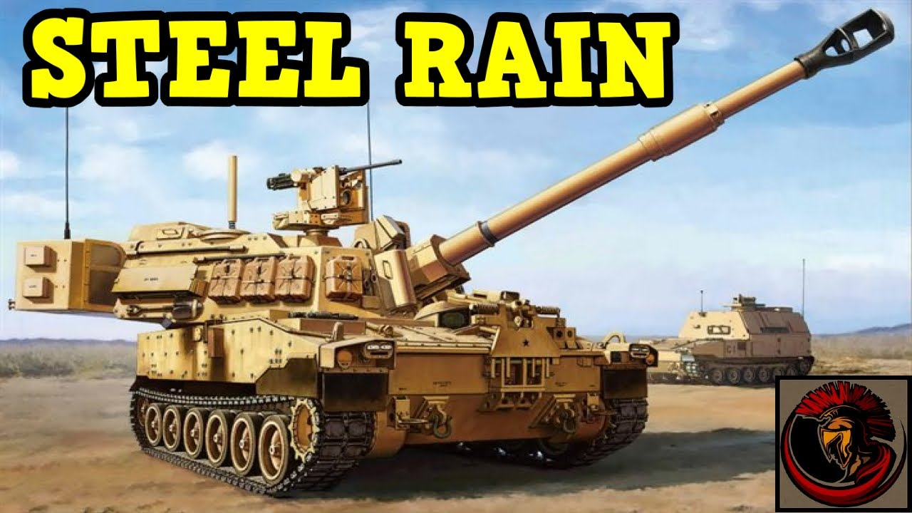 Incredible Firepower of the M109 Paladin 155 mm Self-Propelled Howitzer